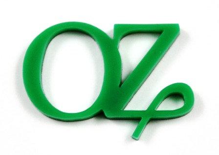 Laser Cut Supplies-1 Piece. OZ Charms-Acrylic.Wood Laser Cut Shape