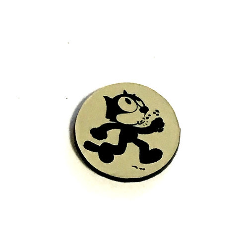 1 Piece. Retro Cat Cabochon -Acrylic Laser Cut Shape