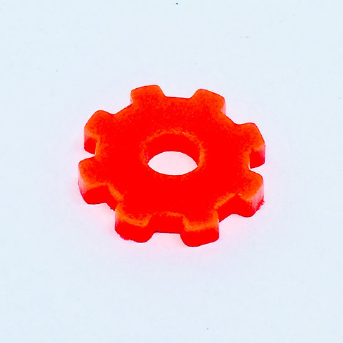 1 Piece. Simple Gear Charms-Acrylic Laser cut Shapes Online