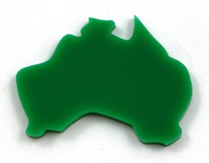 Laser Cut Supplies-1 Piece. Australia Charms-Acrylic.Wood Laser Cut Shape