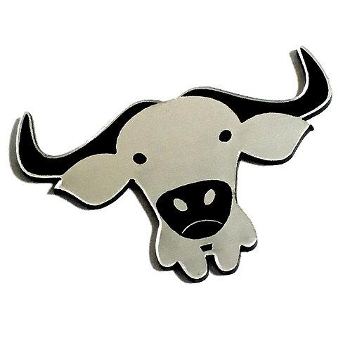 1 Piece. Buffalo Cabochon -Acrylic Laser Cut Shape