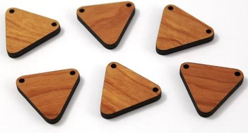 Laser Cut Supplies-1 Piece. Bunting Charms-Acrylic.Wood Laser Cut Shape