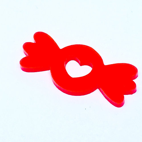 1 Piece. Sweet Lolly Cabochon Charms-Acrylic Laser cut Shapes Onl