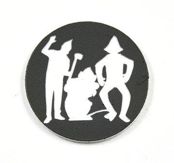 1 Piece. Wizard of Oz Companions Charm -Acrylic Laser Cut Shape
