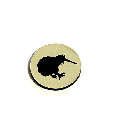 8 Piece. New Zealand Kiwi Mini Cabochons-Acrylic Laser Cut Shapes