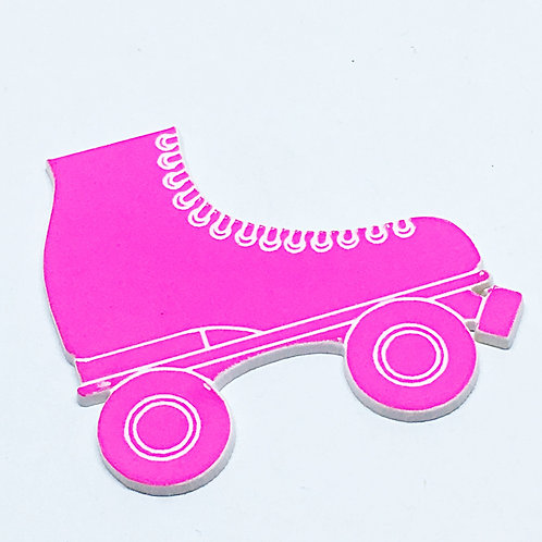 Laser Cut Supplies-1 Piece.Roller Skate-Acrylic. Wood Laser Cut Shape