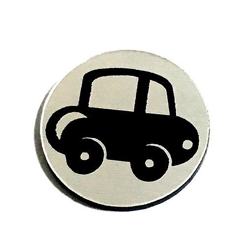 8 Piece. Little Car Mini Cabochons-Acrylic Laser Cut Shapes