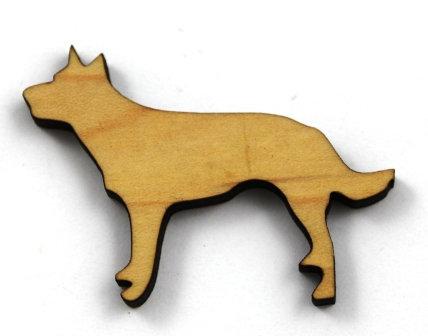 Laser Cut Supplies-1 Piece. Kelpie Charms-Acrylic. Wood Laser Cut Sha