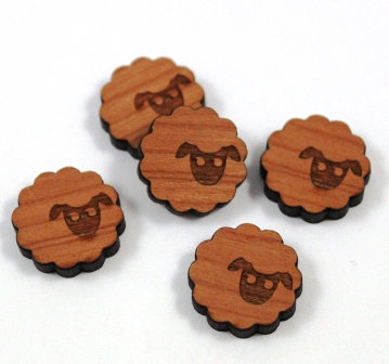 Laser Cut Supplies-8 Pieces.Sheep Charms-Acrylic.Wood Laser Cut Shapes