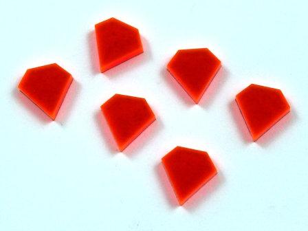 Laser Cut Supplies-8 Pieces. Diamond Charms-Acrylic.Wood Laser Cut Shapes