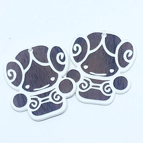 Laser Cut Supplies-1 Piece. Princess-Acrylic. Wood Laser Cut Shape