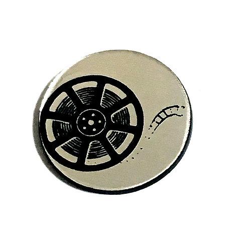 8 Piece. Movie Reel Mini Cabochons-Acrylic Laser Cut Shapes