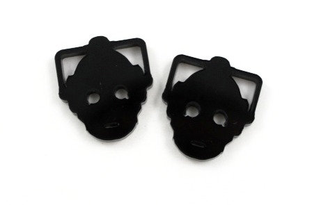 Laser Cut Supplies-1 Piece. Cyberman Charms-Acrylic.Wood Laser Cut Shape