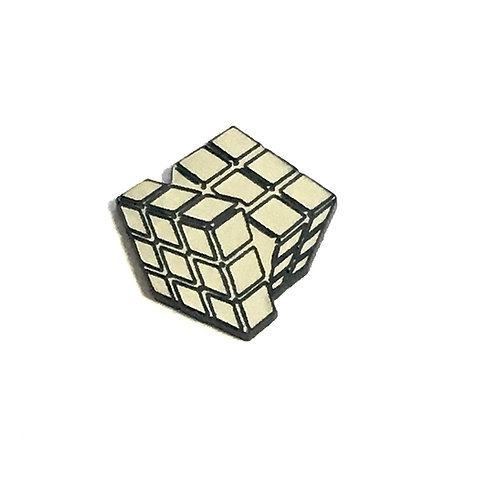 8 Piece. Cube Puzzle Mini Cabochons-Acrylic Laser Cut Shapes