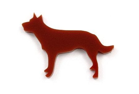 Laser Cut Supplies-1 Piece. Kelpie Charms-Acrylic.Wood Laser Cut Shape