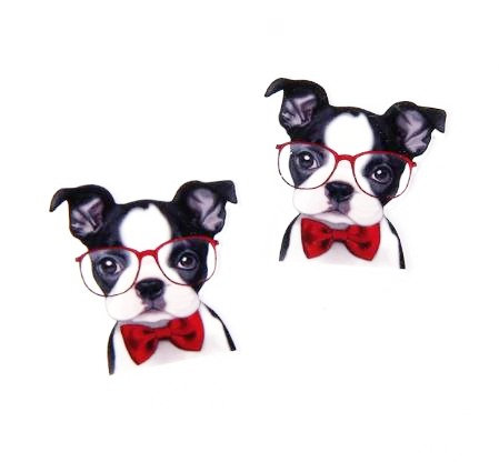 2 Pieces. 30mm Smartie Pants Puppy Charms - Online Laser Cutt COMING SOONing