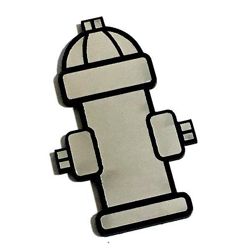 8 Piece. Fire Hydrant Mini Cabochons-Acrylic Laser Cut Shapes