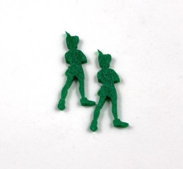 1 Piece. Lost Boy Charms-Acrylic Laser Cut Shape