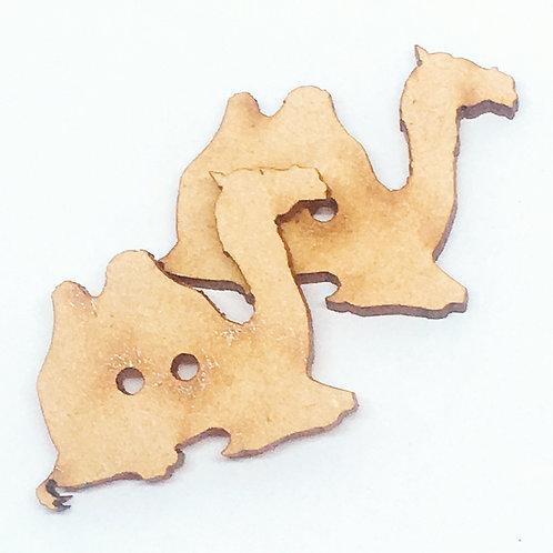 Lasercut Craft Wood –1 Piece.Camel 35mm Wide. Scrapbook. Wood Craft Shape