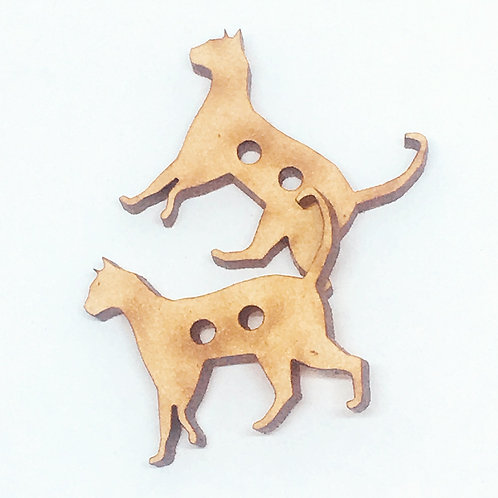 Lasercut Craft Wood –1 Piece.Cat 25mm Wide. Scrapbook. Wood Craft Shape