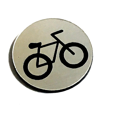 8 Piece. Bicycle Mini Cabochons-Acrylic Laser Cut Shapes