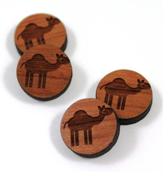 Laser Cut Supplies-8 Pieces.Camel Charms-Acrylic.Wood Laser Cut Shapes