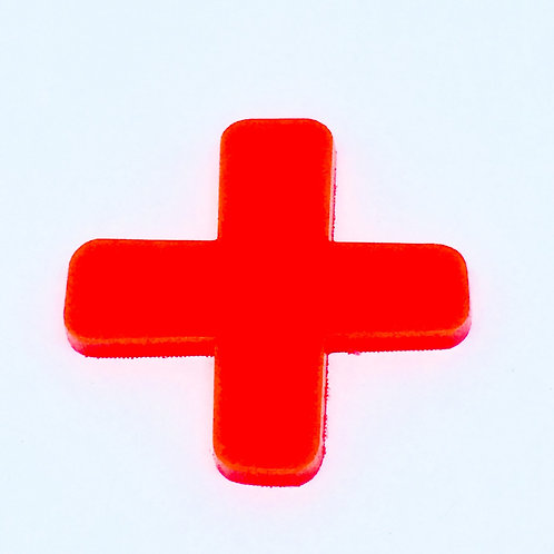 1 Piece. Cross Sign Cabochon Charms-Acrylic Laser cut Shapes Onl