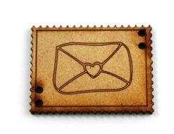 Laser Cut Supplies-1 Piece. Love Letter Tile-Acrylic. Wood Laser Cut Shape