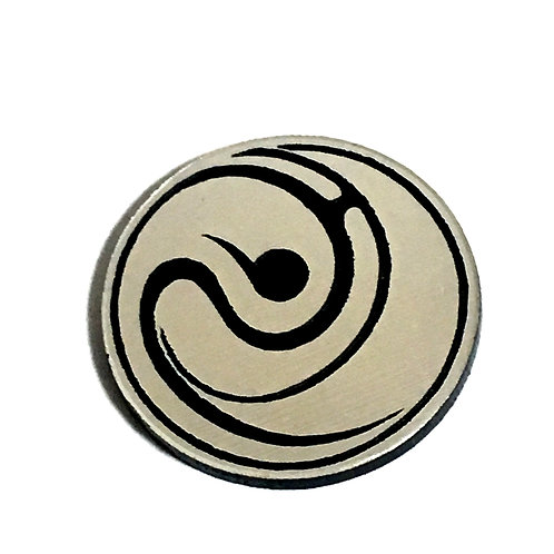 8 Piece. Sweet Swirl Pattern Mini Cabochons-Acrylic Laser Cut Shapes