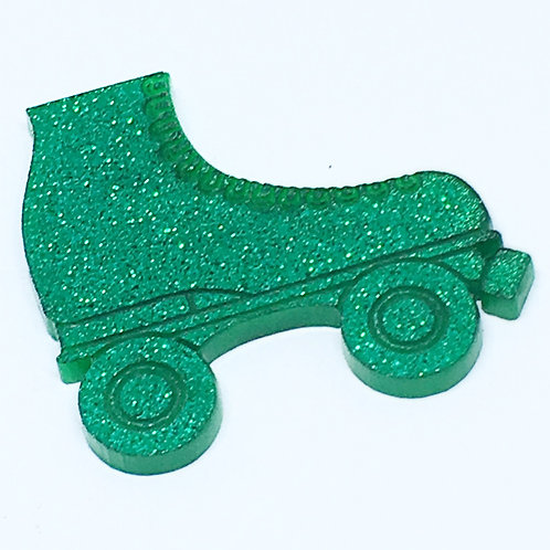 Laser Cut Supplies-1 Piece. Roller Skate Charms-Acrylic.Wood Laser Cut Shapes