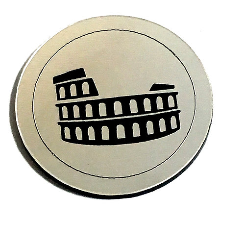 1 Piece. Roman Empire Colosseum Cabochon -Acrylic Laser Cut Shapes
