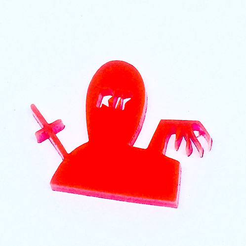1 Piece. Spooky Grave Cabochon Charms-Acrylic Laser cut Shapes Online