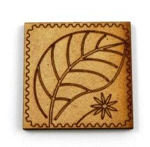 Laser Cut Supplies-1 Piece. Nature Tile-Acrylic. Wood Laser Cut Shape