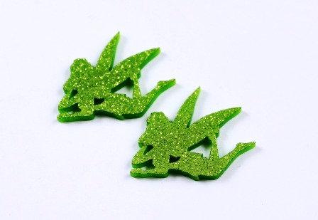 1 Piece. Little Fairy Charms-Acrylic Laser Cut Shape