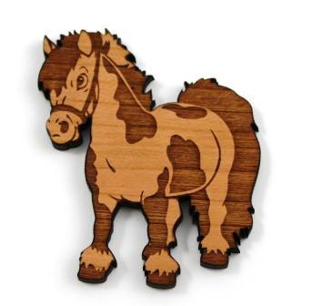 Laser Cut Supplies-1 Piece.Horse Charms-Acrylic. Wood Laser Cut Shape