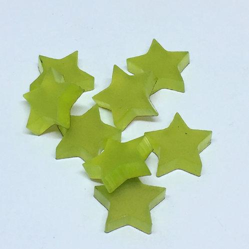 Laser Cut Supplies-8 Pieces. Star Charms-Acrylic.Wood Laser Cut Shapes