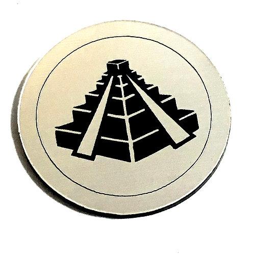 1 Piece. Egyptian Great Pyramid Cabochon -Acrylic Laser Cut Shape