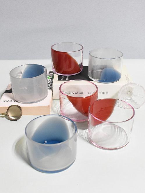 Pigeon-Ruby Wisps (Set of 6 Juice Glasses)