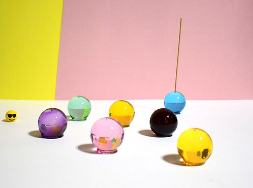Gumball Incense Holders