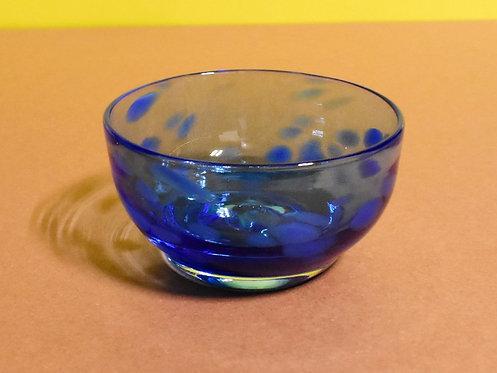 Blue on Blue Bowl