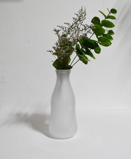 Milky White Vase