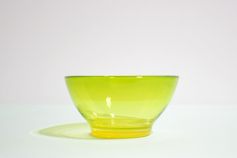 Gelatin Bowl in Chartreuse