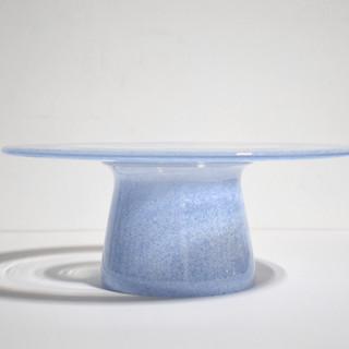 Speckled Iris Cake Platter