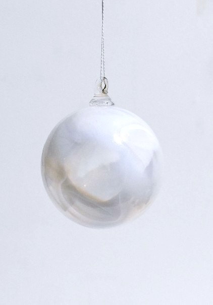 Opaline Cotton Ornaments (set of six)