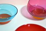 Gelatin Bowls in Drupe, Marasca, and Blueberry-Orange