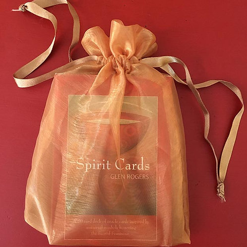 Gold Pouch for Spirit Cards