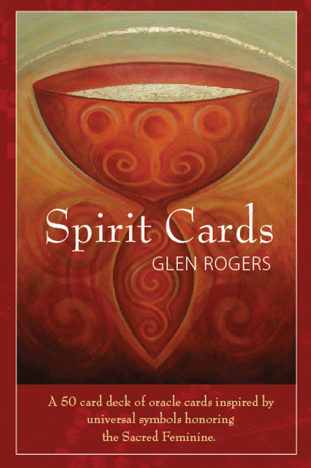 Spirit Cards, a deck of 50 oracle cards.