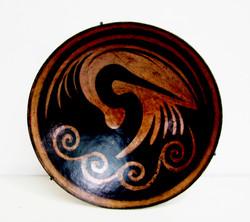 Waterbird w waves (SOLD)