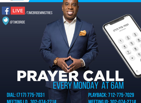 Be Great! Prayer Call Notes