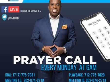 No Worries - Prayer Call Notes